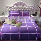 custom manufacturing home textile grinding wool imitation cotton bedclothes four bedding sets