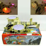 New type super power gyrodine with flashing lights and sound effects toy plane HC94305