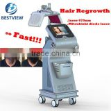 2017 the hottest hair growth equipment 670nm diode laser hair regrowth machine for beauty salon