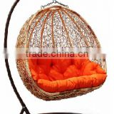 deluxe rattan swing chair hanging chair hot sale