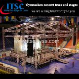 Gymnasium concert trusses and stages Pyramid roof
