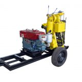 China supplier trailer mounted water well drilling machine