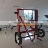 4 x 8ft folding red utility trailers with powder coated