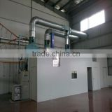 Super powder spraying room