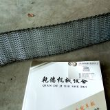 Screw mesh belt conveyor line customized