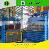 Waste tire compressing machine