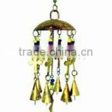Wind bell hanging, metal hanging bell, wind metal bell, animal wind chime bell,