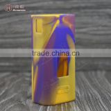 RHS Supply China wholesale electronic cigarette cuboid mini 80w kit vapor mod silicone case factory price wholesale