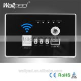 New Design Wallpad Black AU US Standard 118mm*74mm <b>Lan</b> 3G WiFi WPS AP Router <b>Repeater</b> Phone USB <b>Wireless</b> US Wall Charger Socket                                                                         Quality Choice