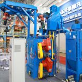 Chinese supplier sand blasting machinery automatic rust remover machine