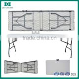 Plastic picnic table folding outdoor table