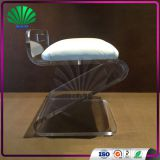 New Fashion Plexiglass Z-Shape Stool Bathroom Storage Stool Acrylic Step Stool
