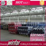Shaoxing Manufacture Winfar textile knit fabric stock lot fabric