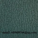 green leatherette paper