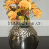Flower Vase for Home Decoration Embossed