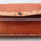 Genuine leather ladies wallet manufacturer, ladies original leather money purse exporter