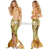 Sexy Adult High Quality Mermaid Tail Costume Set Halloween Costumes for Women AGC049