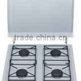 2014 Simple Table Top Gas Hobs With Cover White Color Zhongshan Factory OEM service( Model no: XL-Q03 )