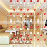 handmade crystal beaded decorative germany curtain office curtain string curtain