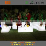 furniture wholesale Rechargeable RGB lights bar furniture LED table