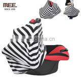 new style soft cotton nursing cover for breastfeeding baby car seat canopy