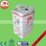 Medical equipment biohazard cardboard safety boxes for sale