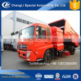 12m3 14m3 16m3 cleaning street water pump truck road sweepers dongfeng