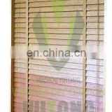 Bamboo Louvre Blinds - distressed bamboo