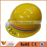 CE EN397 ABS/PE Comfort Protective Hat Adjustable Safety Helmets china