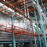 Bicycle spraying production line