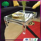 Low price cheap acrylic furniture new fashion clear acrylic sofa table