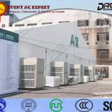corrosion resistance 30HP vertical air conditioning unit for trade fairs