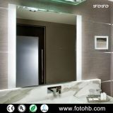 CE/UL IP44 LED Illuminated Rectangle Bathroom Mirror With Light for Luxury Hotel