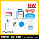 New design plastic pre-school pretend doctor toys(10pcs)