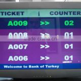 Centralized <b>Queue</b> <b>Management</b> <b>System</b> Token Number LCD Main Display