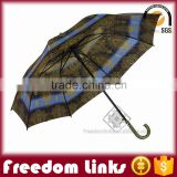 30 Inch Straight Golf Umbrella Wind Proof Logo Customized