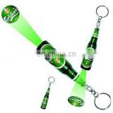 keychain beer promo projection torch
