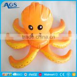 custom hot sale advertising inflatable octopus in pvc toy animal series