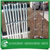 Safety 2 rails ball fence handrailling for stair