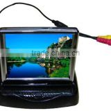 3.5inch flip-open LCD car monitor,3.5 inch TFT-LCD monitor