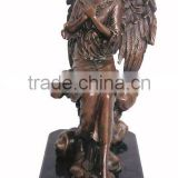 Bronze Girl Angel Statue For Sale