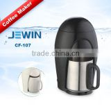 Mini home automatic coffee maker with single cup stainless steel
