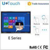 70 Inch multi touch all in one pc tv , touch screen monitor with 6 touch points for education,meeting,presentations