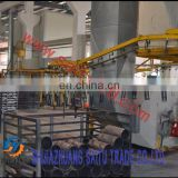 SAITU company fire extinguisher cylinder automatic inside powder coating machine