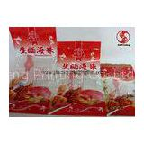 Waterproof Plastic Sea Food Packaging Bags With Heat Sealable Laminated Material Multiple Extrusion