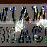 Miami Beach <b>heat</b> <b>transfer</b> foil <b>rhinestud</b> <b>transfer</b>s motif