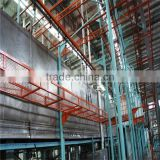 high efficiency automatic powder coating plant