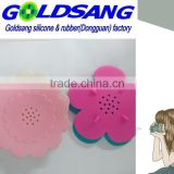 follower shape silicone soap box creative soap holder
