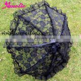 Charming Gothic Rose Patterns ladies umbrellas