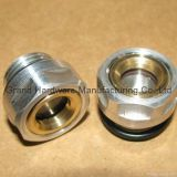 Round aluminum oil sight glass for Bizter